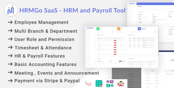 HRMGo SaaS - HRM and Payroll Tool