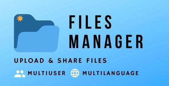 Files Manager Script