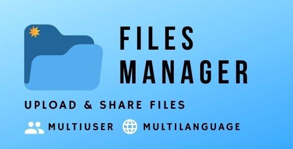 Files Manager Script - CodeCanyon Item for Sale