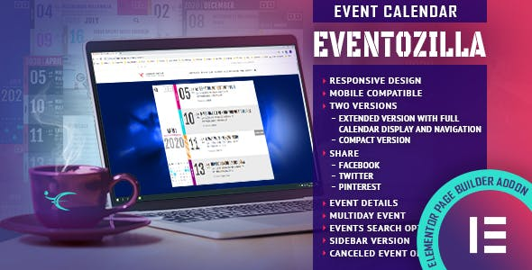 EventoZilla - Event Calendar - Elementor Widget Addon