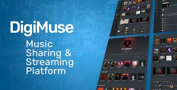 DigiMuse v1.11 – Music Streaming Platform