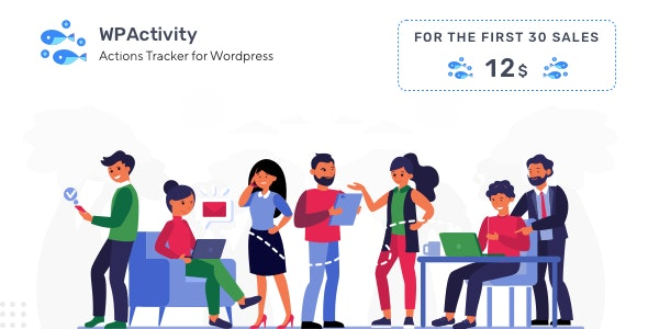WPActivity - User Activity Monitoring Plugin - CodeCanyon Item for Sale