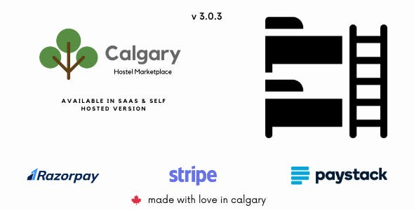 Calgary Hostel Management System - SAAS & Self Hosted