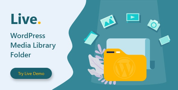 Live - WordPress Media Library Folders - CodeCanyon Item for Sale