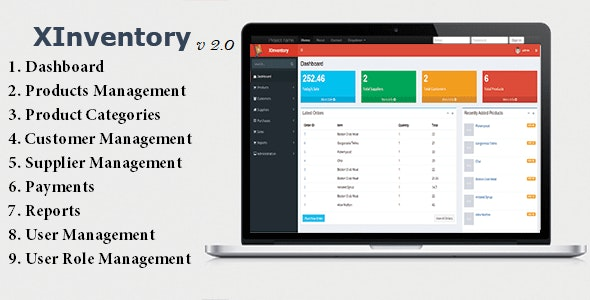 XInventory - Sales, Purchase and Invoicing Solution - CodeCanyon Item for Sale