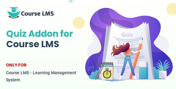 Course LMS Quiz Addon