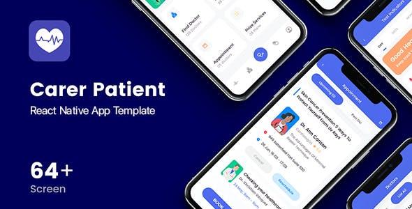 Carer Patient Mobile App Template