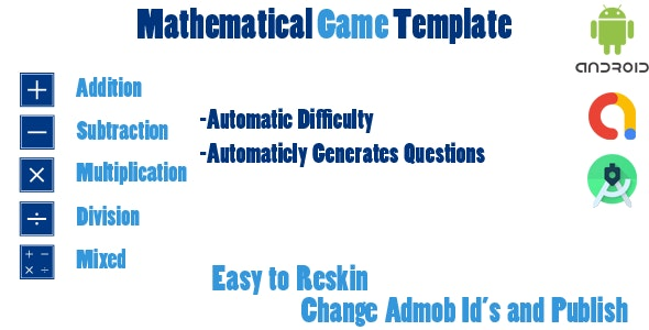 Mathematical Game Template - CodeCanyon Item for Sale