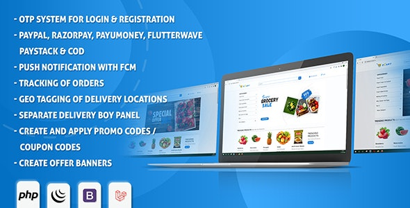 eCart Web - Ecommerce/Store Full Website - CodeCanyon Item for Sale