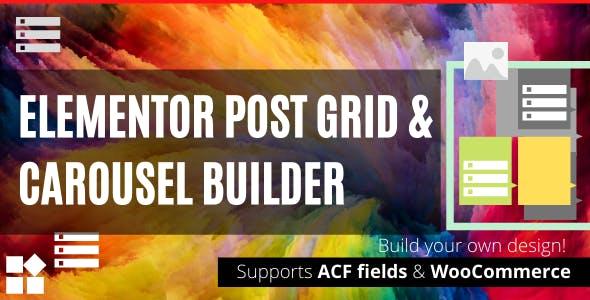 Elementor Post Grid & Carousel Builder