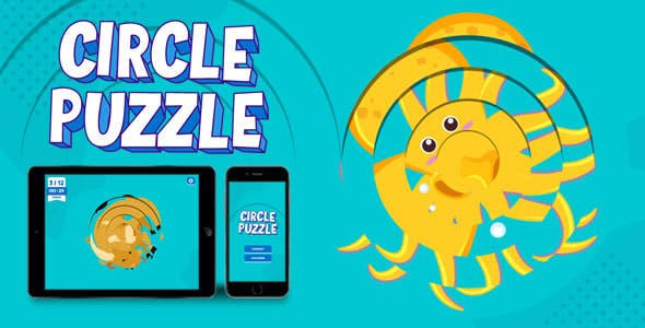 Circle Puzzle - HTML5 Game