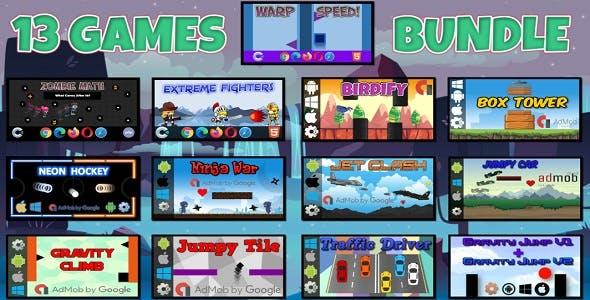 13 HTML5 Games Bundle (Construct 3 | Construct 2 | c3p | capx)