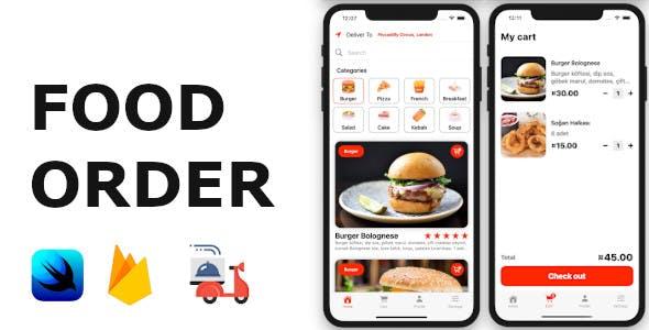 Food Order App | Full SwiftUI iOS Application