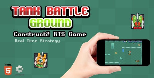 Tank Battle Ground - Html5 Game