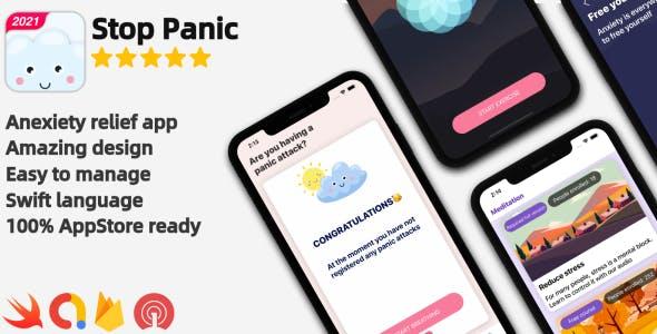 Panic Attack - panic shield & meditation