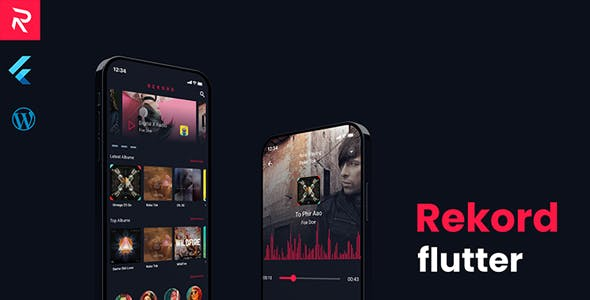 Rekord Flutter Music Application