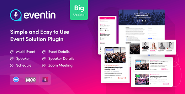 WP Eventin | WooCommerce Event Manager Plugin to Sell Tickets