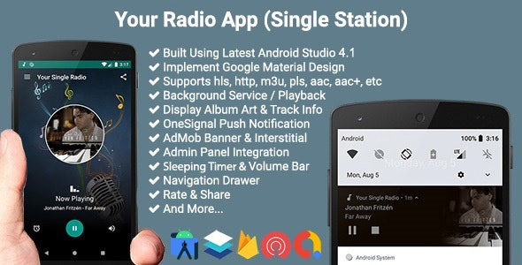Your Radio App (Single Station) - CodeCanyon Item for Sale