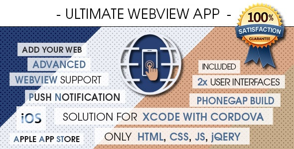 Ultimate Webview App - iOS [ 2021 Edition ] - CodeCanyon Item for Sale