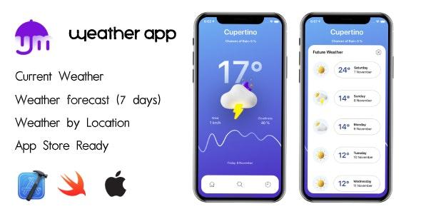 Uhmweather - iOS Weather App - CodeCanyon Item for Sale