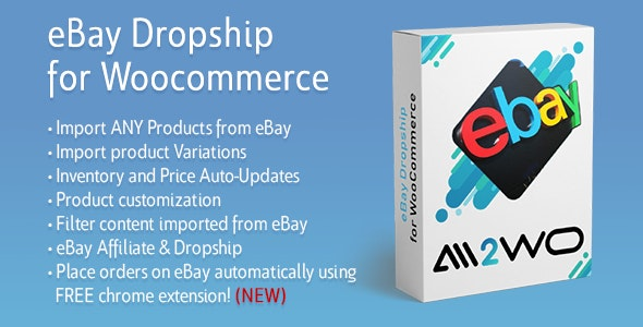 eBay Dropshipping and Fulfillment for WooCommerce - CodeCanyon Item for Sale