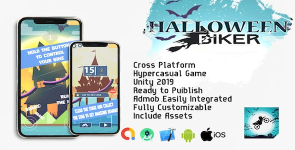 Haloween Biker - CodeCanyon Item for Sale