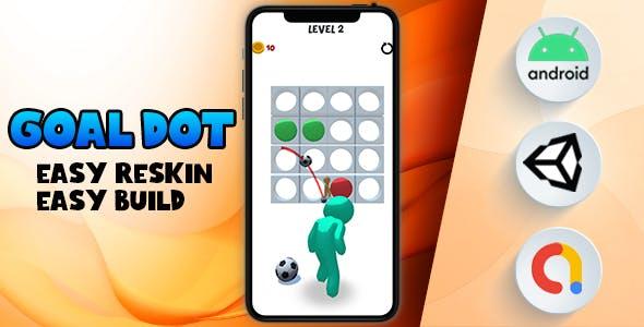 Goal Dot - (Unity - Admob)
