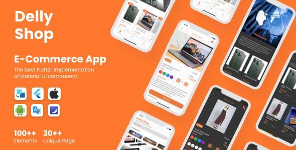 Flutter Delly E-Commerce App in Flutter