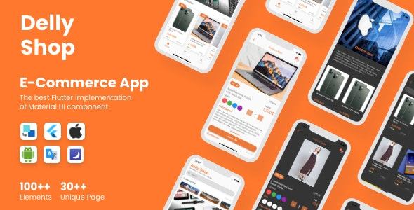 Flutter Delly E-Commerce App in Flutter - CodeCanyon Item for Sale