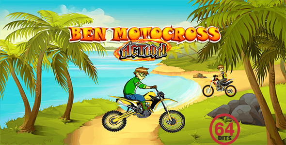 Motocross Action 64 Bits(Android Studio) - Without Any Ads