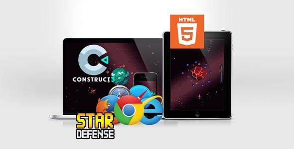 Star Defense HTML5 Game