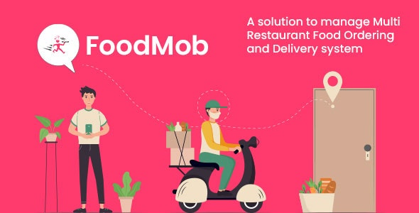 FoodMob - An Online Multi Restaurant Food Ordering and Management with Delivery System