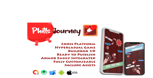 Phills Journey | Buildbox 3 | iOS & Android | Admob Ready - CodeCanyon Item for Sale