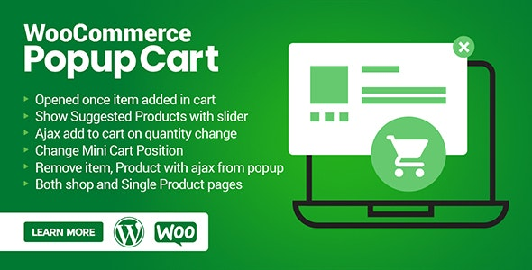 WooCommerce Popup Cart - CodeCanyon Item for Sale