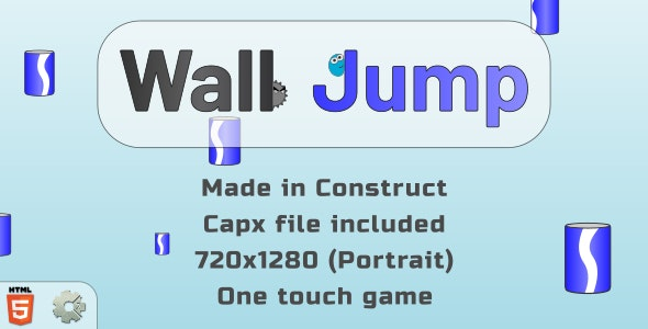 trezeWallJump - HTML5 Casual Game - CodeCanyon Item for Sale