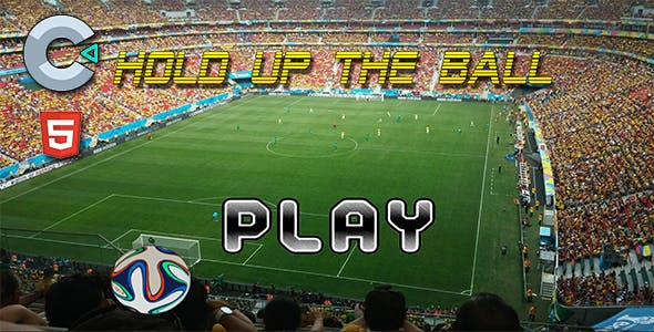 Hold up the Ball - HTML5 Mobile Game