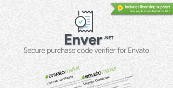 Enver - Envato Purchase Code Verifier + Licenser