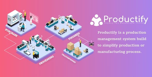 Productify::Production Management System