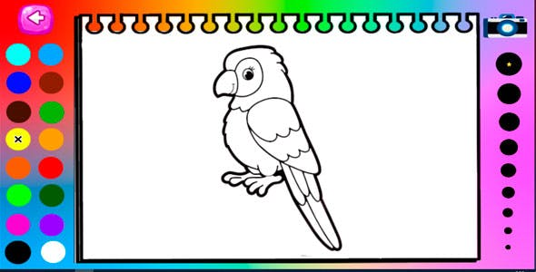 Coloring Book for Kids - HTML5 and Mobile .capx