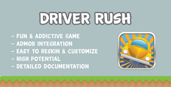 Driver Rush with AdMob | Games