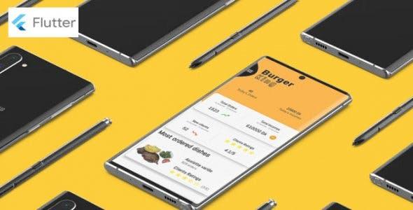 Flutter food ordering  app