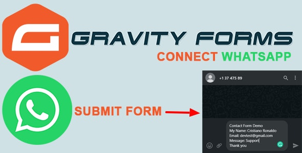 Gravity Forms Connect WhatsApp - CodeCanyon Item for Sale