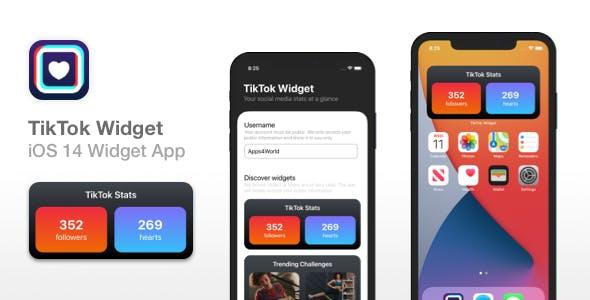 TikTok Widget - iOS 14 Widget for TikTok