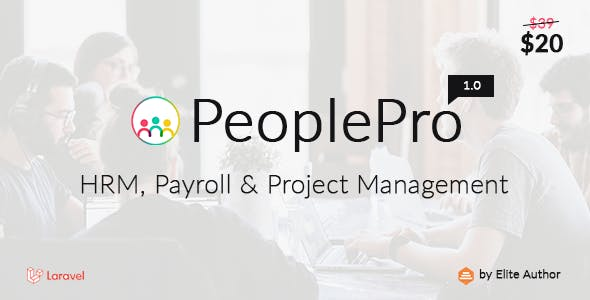 PeoplePro - HRM, Payroll & Project Management