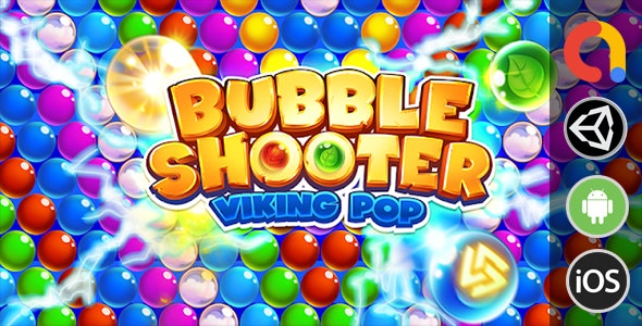 Bear Bubble Shooter - Unity Game with Admob - CodeCanyon Item for Sale