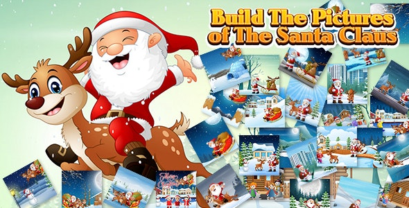 Build The Pictures of The Santa Claus (CAPX and HTML5) - CodeCanyon Item for Sale