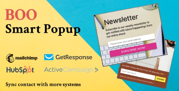 BOO Smart Popup - CodeCanyon Item for Sale
