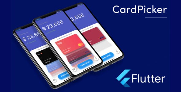 Flutter Credit Card Picker Template in Flutter