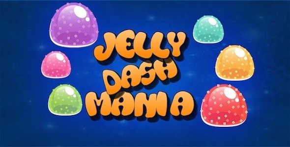 Jelly Dash Mania | Diamond Dash Style Game | Android | Games - CodeCanyon Item for Sale
