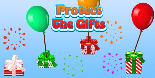 Protect The Christmas Gifts (CAPX and HTML5) Christmas Game